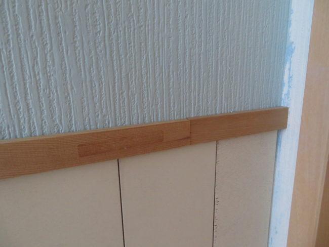 【DIY】ベニヤ板を使った腰壁の作り方。子供部屋がかわいく大変身♪