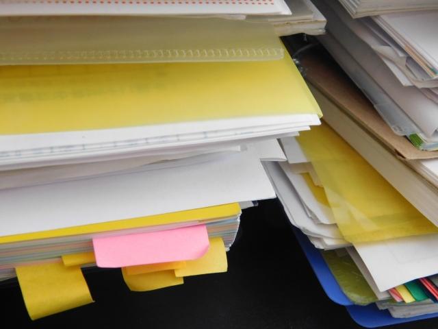 【人生がときめく】こんまり流で書類整理を実践!しかし・・・【片づけの魔法】
